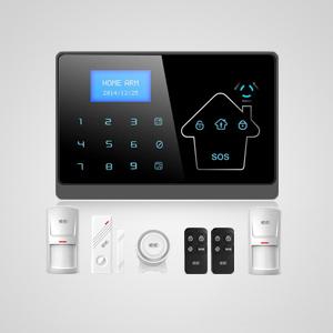<b>电话线+GSM双网防盗报警器 YL-007M2-1 </b>