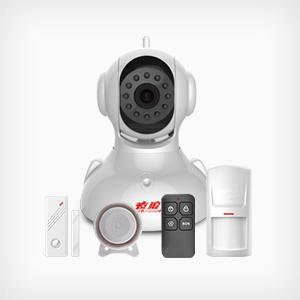 亚洲日韩天堂在线WiFi网络视频报警器 YL-IPC04