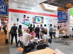 夜狼安防闪耀香港环球资源电子产品展