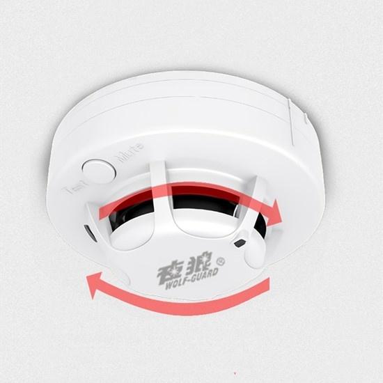抗高温火灾烟雾探测器 智能烟感探测器